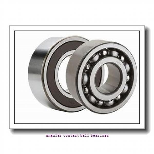 FAG QJ217-MPA-C3  Angular Contact Ball Bearings #1 image
