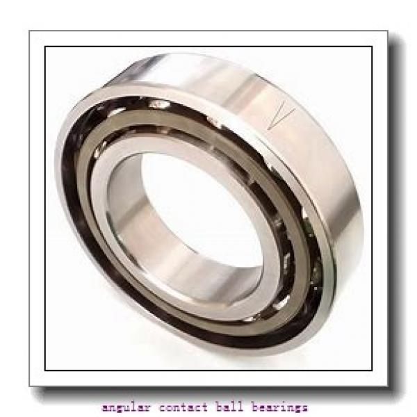 FAG QJ217-MPA-C3  Angular Contact Ball Bearings #2 image