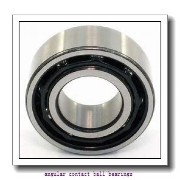 20 mm x 52 mm x 15 mm  FAG QJ304-MPA  Angular Contact Ball Bearings #1 image