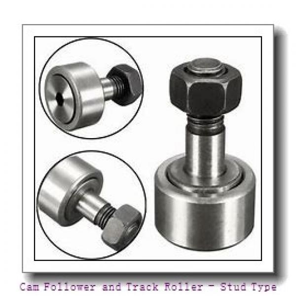 CONSOLIDATED BEARING KR-30-2RSX  Cam Follower and Track Roller - Stud Type #1 image