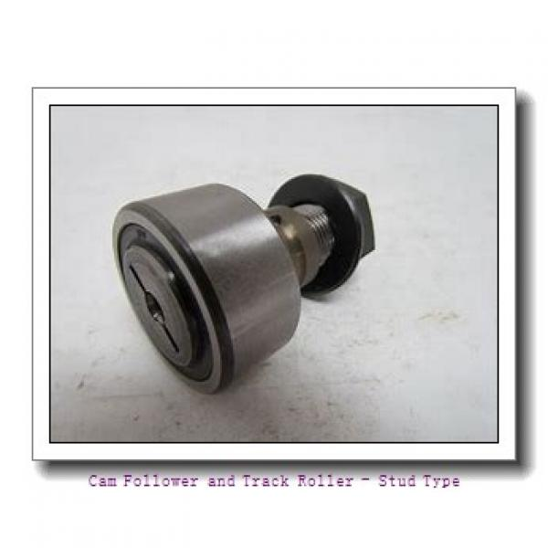 CONSOLIDATED BEARING KR-19-2RSX SK  Cam Follower and Track Roller - Stud Type #1 image