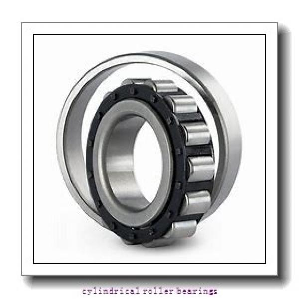 90 x 7.48 Inch | 190 Millimeter x 1.693 Inch | 43 Millimeter  NSK NU318W  Cylindrical Roller Bearings #1 image