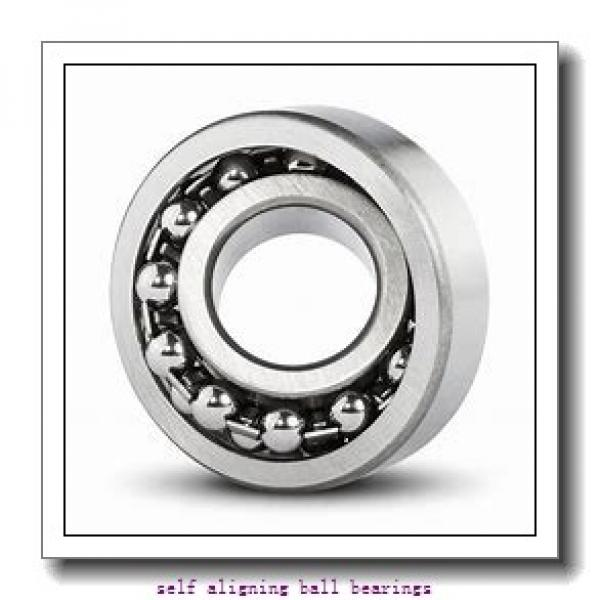 25 mm x 62 mm x 24 mm  FAG 2305-TVH  Self Aligning Ball Bearings #1 image